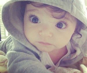 baby, eyes, and sweet image