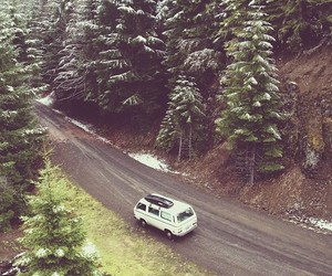 adventure, road, and winter image