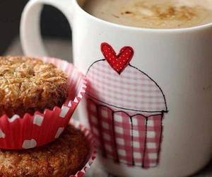 coffee, cupcake, and food image