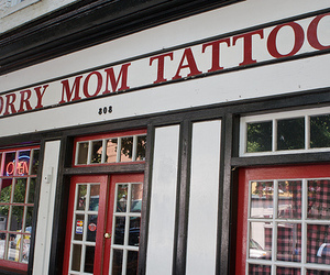 tattoo, mom, and sorry image