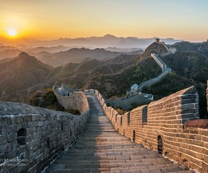 awesome, sunrise, and china image
