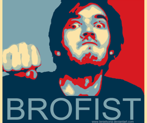 pewdiepie, brofist, and pewds image