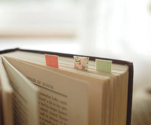 book, cute, and reading image