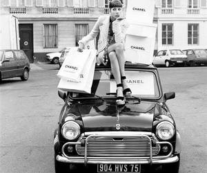 black and white, chanel, and girl image