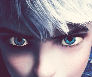 jack frost, blue, and boy image