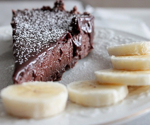 banana, delicious, and cake image