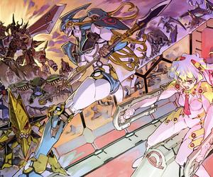 anime, gurren lagann, and tengen toppa image