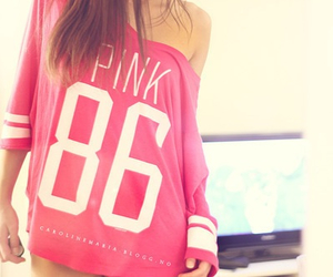 pink, girl, and 86 image