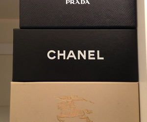 chanel, Prada, and Burberry image