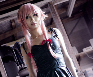 cosplay, mirai nikki, and yuno gasai image