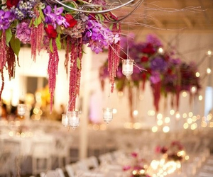 colors, flowers, and reception image