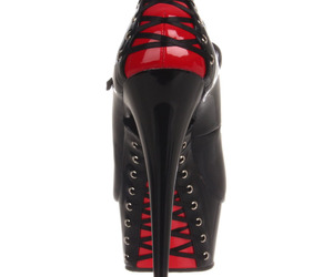corset, heels, and stilettos image