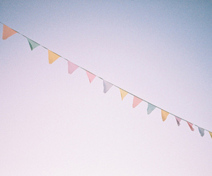 colors, vintage, and sky image