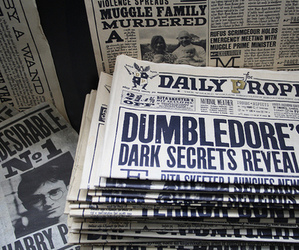 hp, movie, and dumbledore image