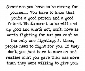 fight, life, and quotes image