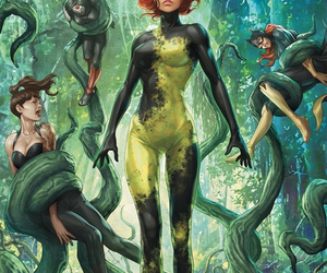 art and poison ivy image