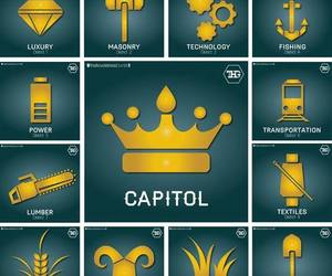 district, capitol, and the hunger games image