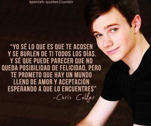 frases and chris colfer image