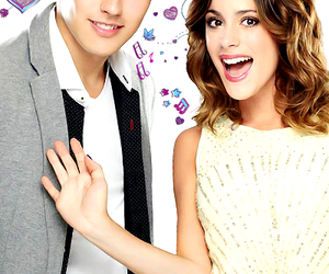 violetta, leon, and jorge blanco image