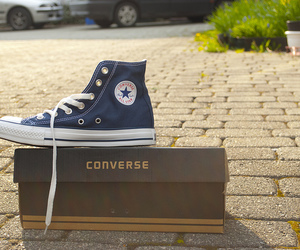 all star, blue, and box image