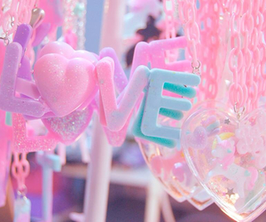 pink, love, and pastel image
