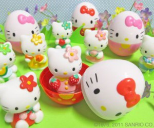 easter, cute, and hello kitty image