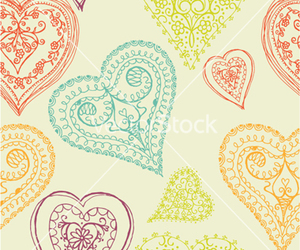 heart, lace, and romance image