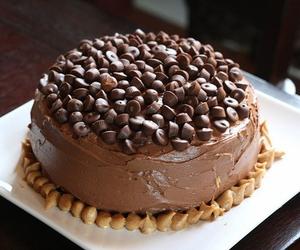 cake, chocolate, and luxury image