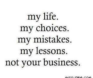 life, quotes, and mistakes image