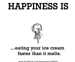 funny, happy, and ice cream image