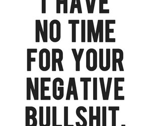 quotes, bullshit, and negative image
