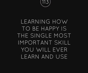 text, happy, and quote image