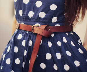 fashion, dress, and belt image