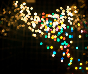 light, night, and colorful image
