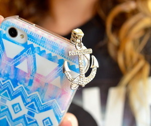case, iphone, and anchor image