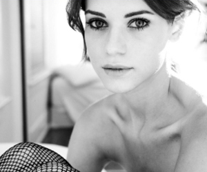 lyndsy fonseca, girl, and black and white image