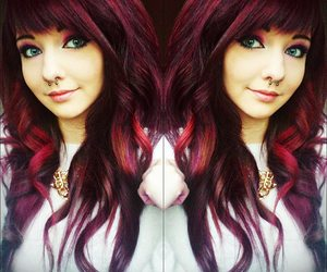 girl, red hair, and fillieh famous image