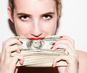 emma roberts, money, and american horror story image