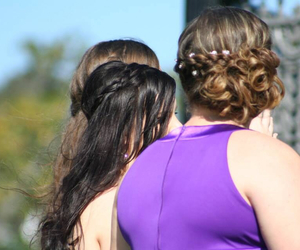 formal, girls, and hair image