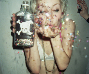 blonde, drunk, and drugs image