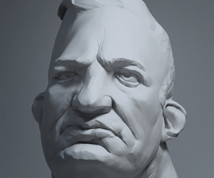 3d model, zbrush, and martin carlsson image