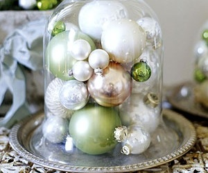 christmas, ornaments, and white image