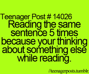 teenager post, quotes, and reading image