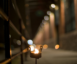 candle, night, and street image