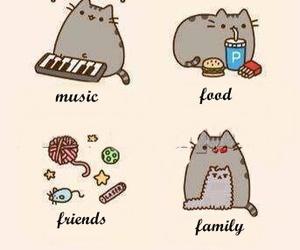 music, sleep, and pusheen the cat image