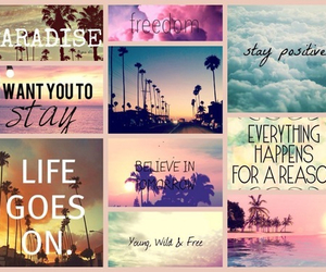 life, quotes, and paradise image