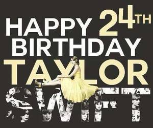 Taylor Swift, 24, and birthday image