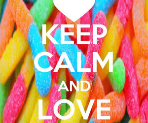 keep calm and gummy worms image