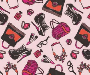 pink, accessories, and bag image