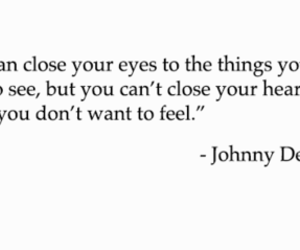 quote, johnny depp, and actor image